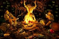 Campfire, © Brain Kaldorf, http://www.briankaldorf.com