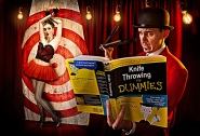 Knife Throwing for Dummies, © Brian Kalfdorf, http://www.briankaldorf.com